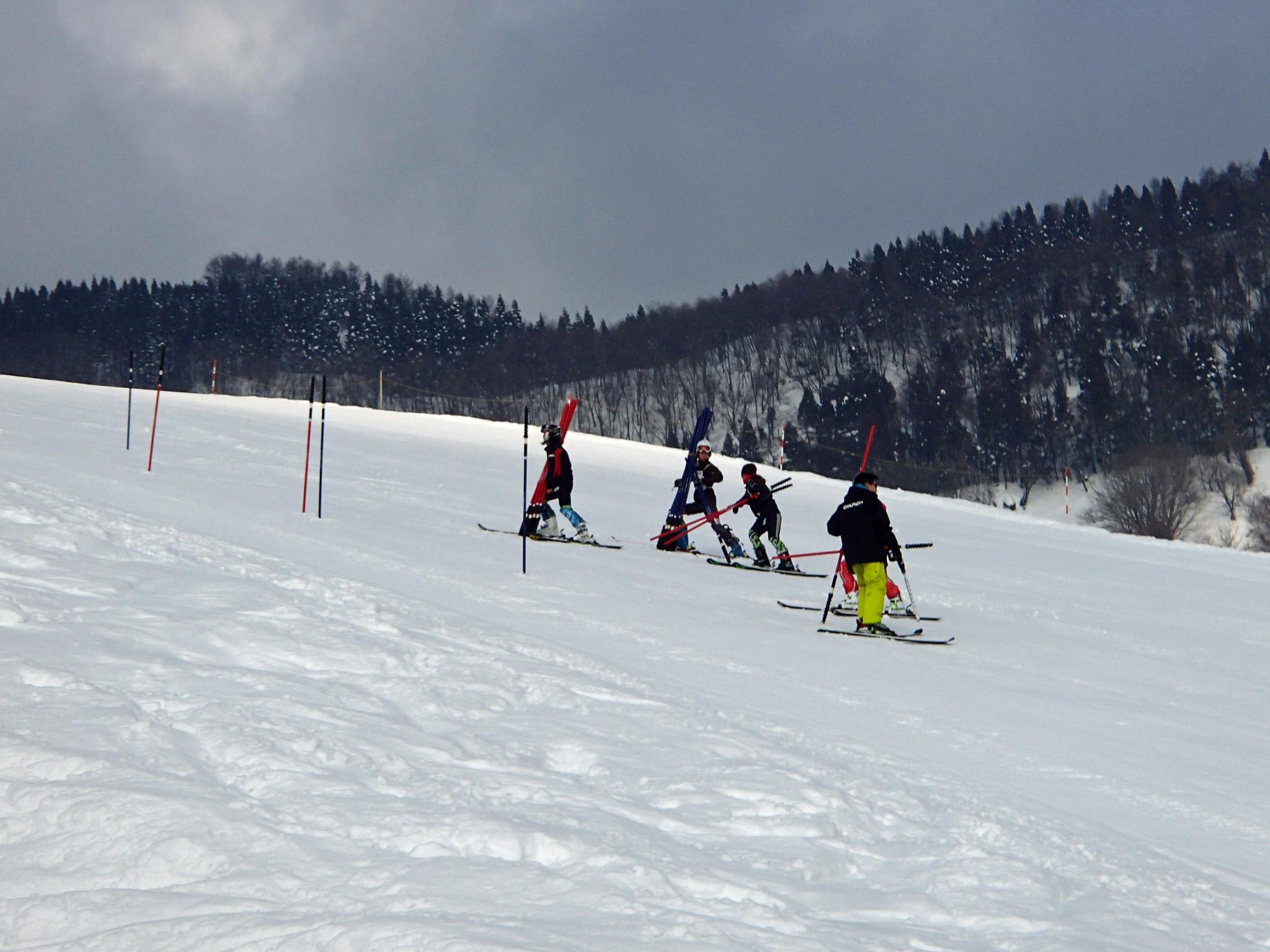 場 おじろ スキー